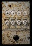 Panneau d'électricité Photo libre de droits