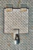 Panneau d'acce2s industriel Image stock