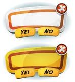 Panneau d'accord de panneau routier pour le jeu d'Ui Photographie stock libre de droits