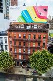 Panneau d'affichage d'IPhone 5C Photographie stock