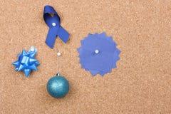Panneau d'affichage de Noël Image stock
