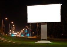 Panneau d'affichage de publicité de ville photo libre de droits