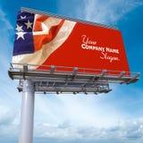Panneau d'affichage des Etats-Unis Photos libres de droits