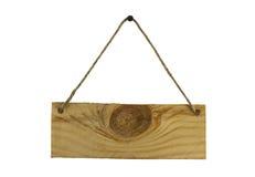 Panneau d'affichage en bois Photos stock