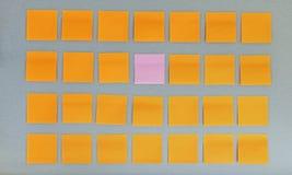 Panneau d'affichage gris-foncé Photographie stock libre de droits