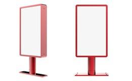 Panneau d'affichage vertical Photos libres de droits