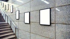 Panneau d'affichage vide Photographie stock libre de droits