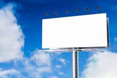 Panneau d'affichage vide Images libres de droits