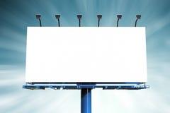 Panneau d'affichage vide Image stock