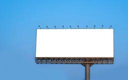 Panneau d'affichage vide pour la nouvelle publicité Photo libre de droits