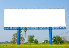 Panneau d'affichage vide prêt pour la nouvelle publicité Photo stock