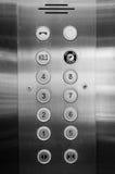 Panneau d'ascenseur Image stock