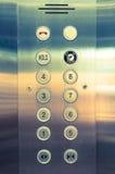 Panneau d'ascenseur Image libre de droits