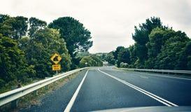 Panneau d'avertissement de koala Photos libres de droits