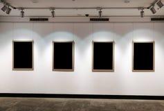 Panneau d'exposition d'art images libres de droits