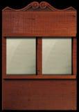 Panneau d'hymne Photographie stock