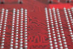 Panneau d'ordinateur Image libre de droits