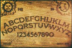 Panneau d'Ouija Photographie stock