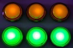 Panneau de bouton poussoir image libre de droits