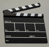 Panneau de clapet de film Photographie stock