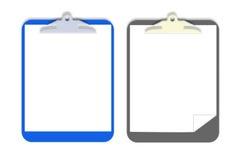 Panneau de clip de vecteur Image stock