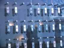 Panneau de clés d'hôtel Images libres de droits