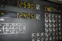 Panneau de commande de contrôleur de machine Photos stock