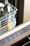 Panneau de commande de lave-vaisselle Images libres de droits