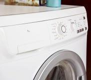 Panneau de commande de machine à laver photographie stock