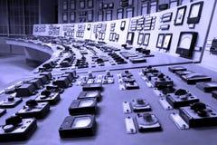 Panneau de commande industriel Image stock