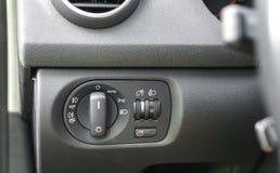 Panneau de commande de lumières de véhicule images libres de droits
