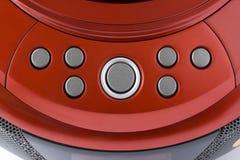Panneau de commande rouge abstrait Photographie stock libre de droits