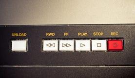 Panneau de commande sain professionnel de magnétophone de vintage Photos libres de droits