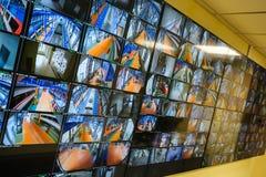 Panneau de contrôle de sécurité Photos libres de droits