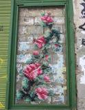 Panneau de couture de Valence Plaça del Docteur Collado Images libres de droits