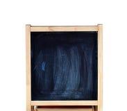 Panneau de craie noir photos libres de droits