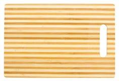 Panneau de découpage en bambou images libres de droits