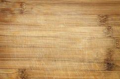 Panneau de découpage en bambou Photographie stock libre de droits
