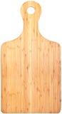 Panneau de découpage en bambou (avec des chemins de découpage) Photos stock