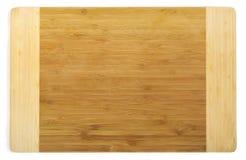 Panneau de découpage en bambou de cuisine Images libres de droits