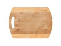 Panneau de découpage en bois Photos stock
