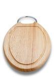 Panneau de découpage en bois (avec le chemin de découpage) Photos libres de droits