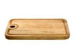 Panneau de découpage en bois utilisé photographie stock libre de droits