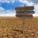 Panneau de désert