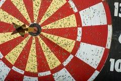 Panneau de dard avec l'espace de copie Photo libre de droits