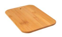 Panneau de découpage en bois Photo stock
