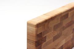 Panneau de différentes couches de bois sur un fond blanc Image libre de droits