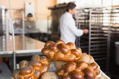 Panneau de différents types de pain Photographie stock libre de droits