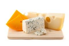 Panneau de fromage Photographie stock libre de droits