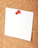 Panneau de liège Photographie stock libre de droits